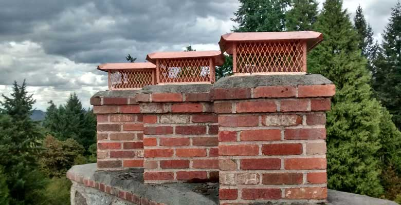 Custom Chimney Cap Service, Repair & Installation.